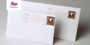 Cómo llena el sobre de una carta