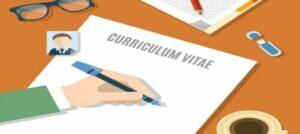 redactar un curriculum vitae